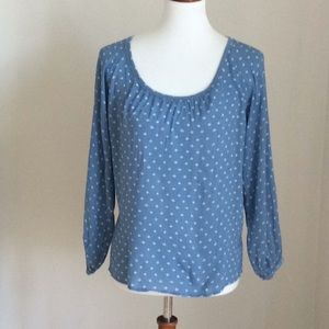 Ann Taylor Light Rayon Top